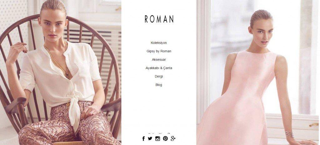 Roman Ücretsiz kargo