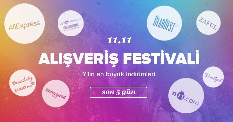 11.11 indirim kampanyasına katılan markalar