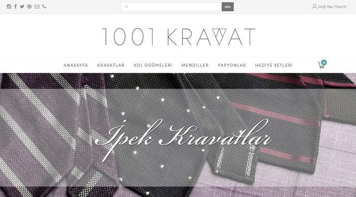 1001 kravat indirim kodu