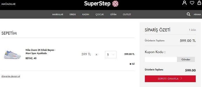 superstep kupon kodu