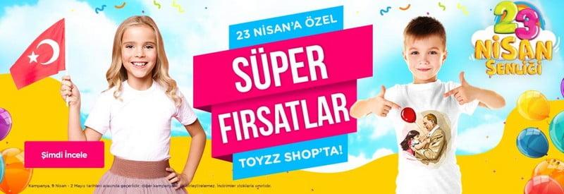 toyzz shop 23 nisan indirimleri